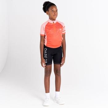 Gradual leichte Fahrradshorts für Kinder Schwarz