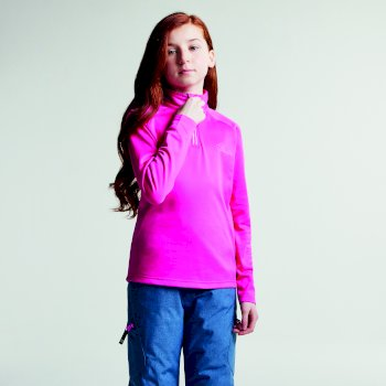 Ricochet III Core Stretch Midlayer für Kinder Cyber ​​Pink