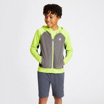 Twofold Core Stretch-Midlayer mit Kapuze für Kinder Grün