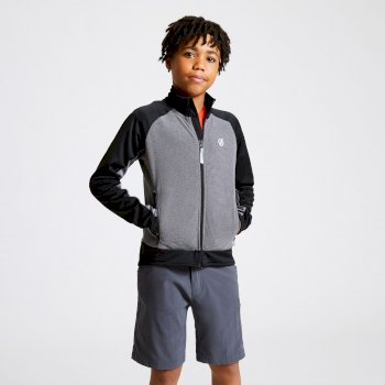 Accolade Core Stretch-Midlayer für Kinder Grau