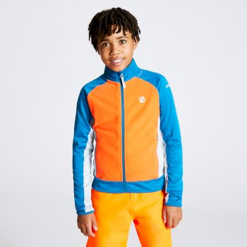 Accolade Core Stretch-Midlayer für Kinder Orange