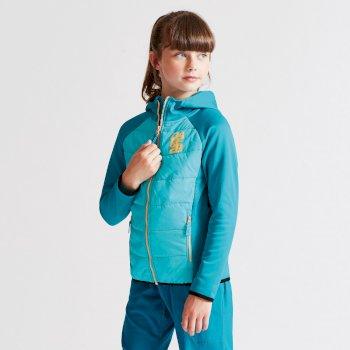 Kids Infused Hybrid Jacket Sea Breeze Blue/Bahama Blue