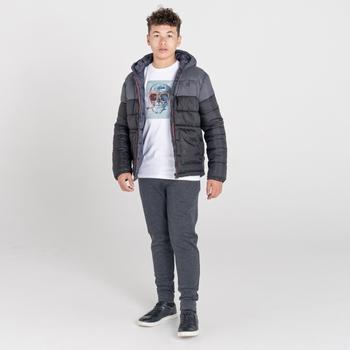 Nothing To It wasserdichte, isolierte Jacke für Kinder Schwarz