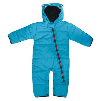 Dare2b Kids Break The Ice Ski Snowsuit Fluro Blue