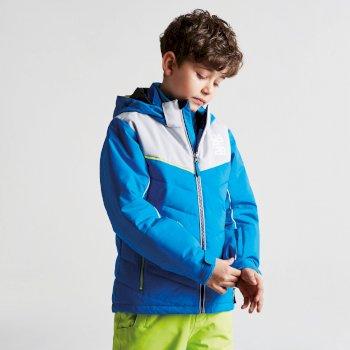 Tusk II Skijacke für Kinder Athletic Blue Cyberspace Grey
