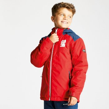 Dare2b Kids External Ski Jacket Code Red Admiral Blue