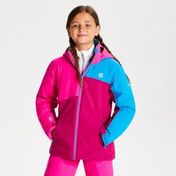 Chancer - Kinder Skijacke Fuchsia Cyber Pink