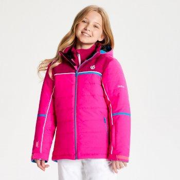 Initiator - Kinder Skijacke Cyber Pink Fuchsia