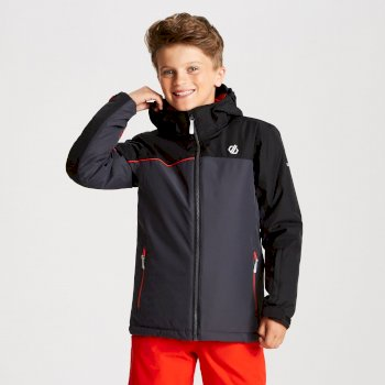 Legit - Kinder Skijacke Ebony Black