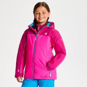 Legit - Kinder Skijacke Cyber Pink Fuchsia