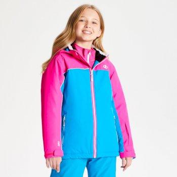 Legit - Kinder Skijacke Atlantic Blue Cyber Pink