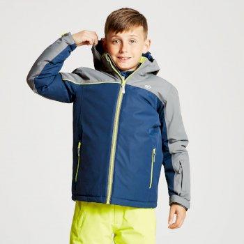Legit - Kinder Skijacke Admiral Blue Aluminium Grey