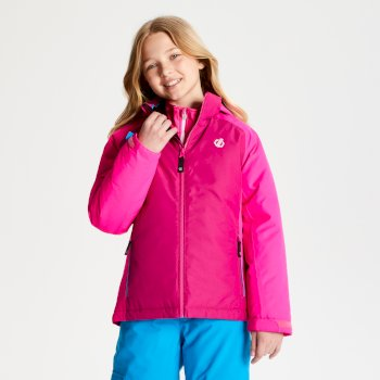 Kids' Amused Ski Jacket - Fuchsia Cyber Pink