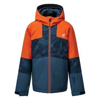 Cavalier wasserdichte, isolierte Skijacke mit Kapuze für Kinder Orange