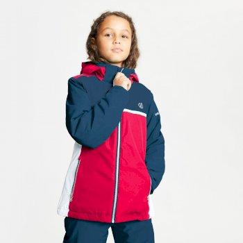 Depend wasserdichte, isolierte Skijacke mit Kapuze für Kinder Blau
