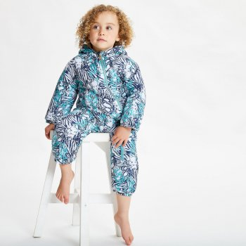 Bambino II wasserdichter, isolierter Schneeanzug für Kinder Blau