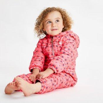 Bambino II wasserdichter, isolierter Schneeanzug für Kinder Rosa