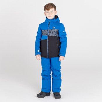 Humour wasserdichte, isolierte Skijacke für Kinder Blau