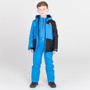 Remarkable wasserdichte, isolierte Skijacke für Kinder Blau