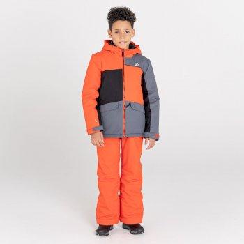 Remarkable wasserdichte, isolierte Skijacke für Kinder Orange