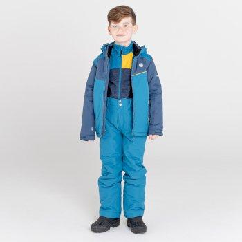 Impose II wasserdichte, isolierte Skijacke für Kinder Blau