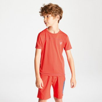 Buoyant Active T-Shirt für Kinder Cajun Orange