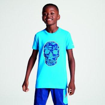 Frenzy T-Shirt für Kinder Atlantischer Blauer Schädel