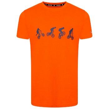 Go Beyond Graphic T-Shirt Für Kinder Orange