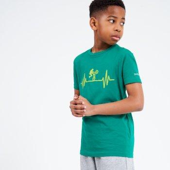 Go Beyond Graphic T-Shirt Für Kinder Grün
