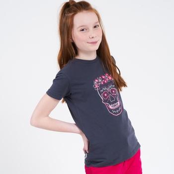 Go Beyond Graphic T-Shirt Für Kinder Grau