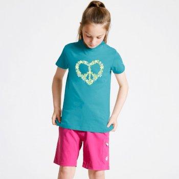 Go Beyond Graphic T-Shirt Für Kinder Blau