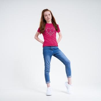 Rightful Graphic T-Shirt Für Kinder Rosa