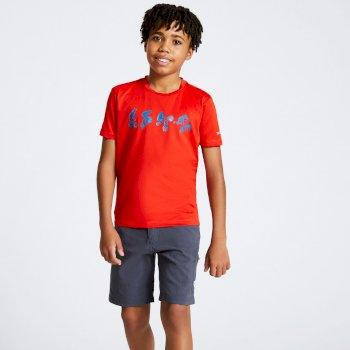 Rightful Graphic T-Shirt für Kinder Rot