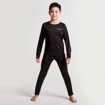 Dare2b Kids Equate Base Layer Set Black