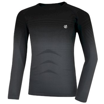 In The Zone - Kinder Baselayer-Set Black Gradient