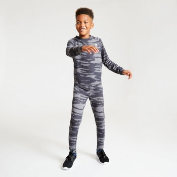 Partition Baselayer-Set für Kinder Tiefschwarz