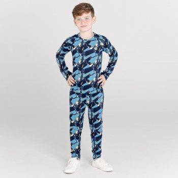 Partition Baselayer-Set für Kinder Blau