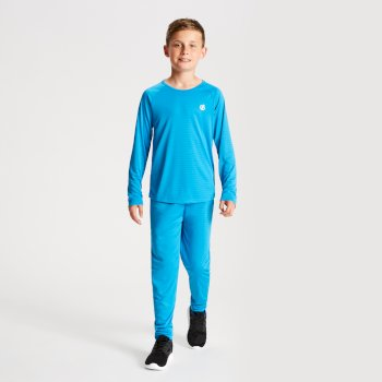 Elate - Kinder Baselayer-Set Atlantic Blue