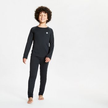 Elate - Kinder Baselayer-Set Black