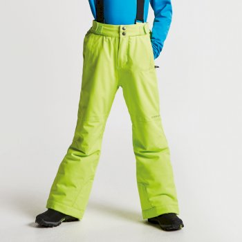 Dare2b Kids Take On Ski Pants Electric Lime