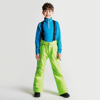 Dare2b Kids Spur On Ski Pants Electric Lime