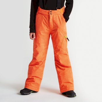 Dare2b Kids Spur On Ski Pants Vibrant Orange