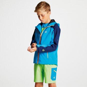 Avail Seamsmart - Kinder Jacke mit Kapuze - wasserdicht Atlantic Blue Clear Water