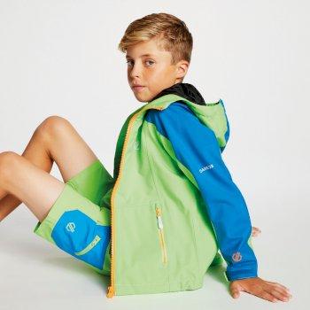 Avail Seamsmart - Kinder Jacke mit Kapuze - wasserdicht Jasmine Green Petrol Blue