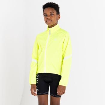 Cordial Wasserdichte Shell-Jacke Für Kinder Gelb