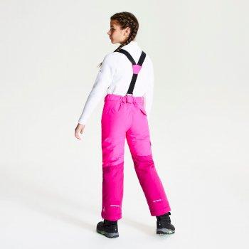 Timeout - Kinder Skihose Cyberpink/Fuchsia