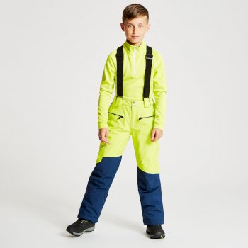 Timeout - Kinder Skihose Limone/Admiralblau