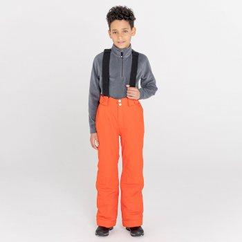 Motive Skihose für Kinder Orange