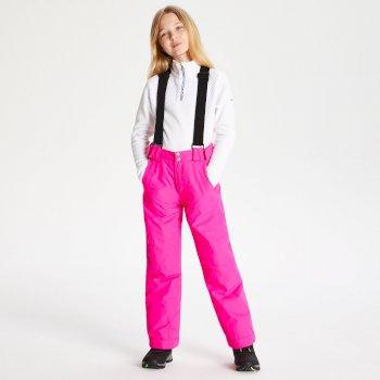 Motive Skihose für Kinder Cyber Pink