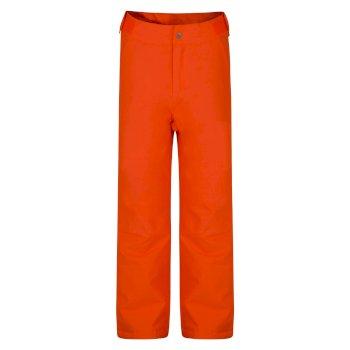 Delve - Kinder Skihose Vibrant Orange